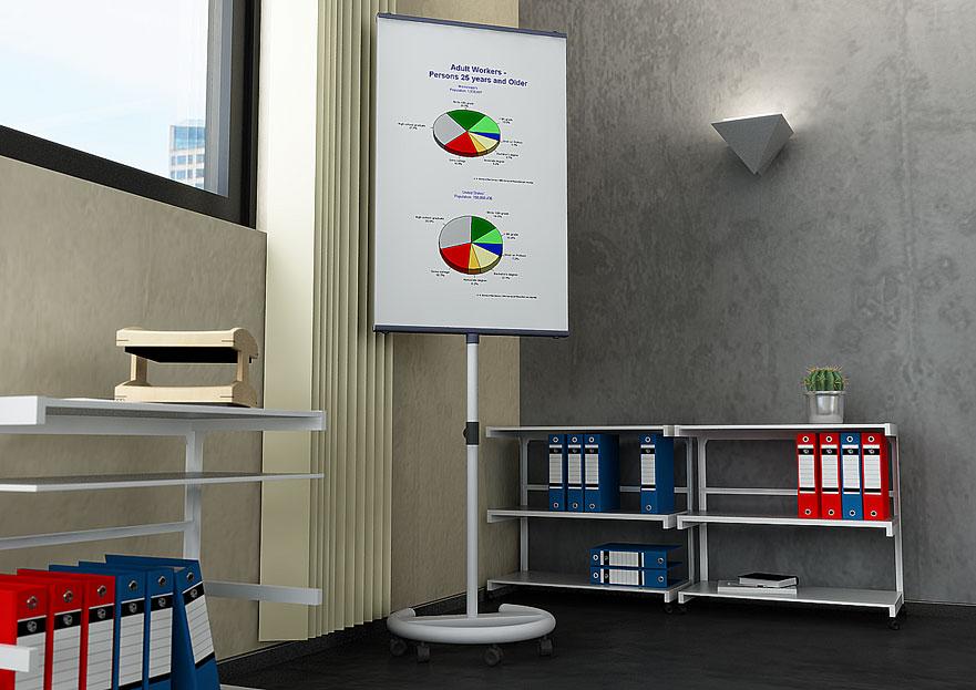 办公室摆件C4D模型